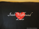 T-Shirt Irish Wolfhound Lover