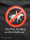 T-Shirt Irish Wolfhound kein Pony