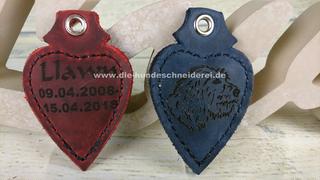 3 Schlüssel viele Farben möglich neu Schlüsselanhänger lautlos Leder für max